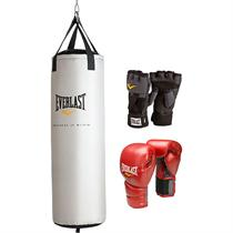 Everlast Womens Boxing Kit - 60 lbs Heavy Bag
